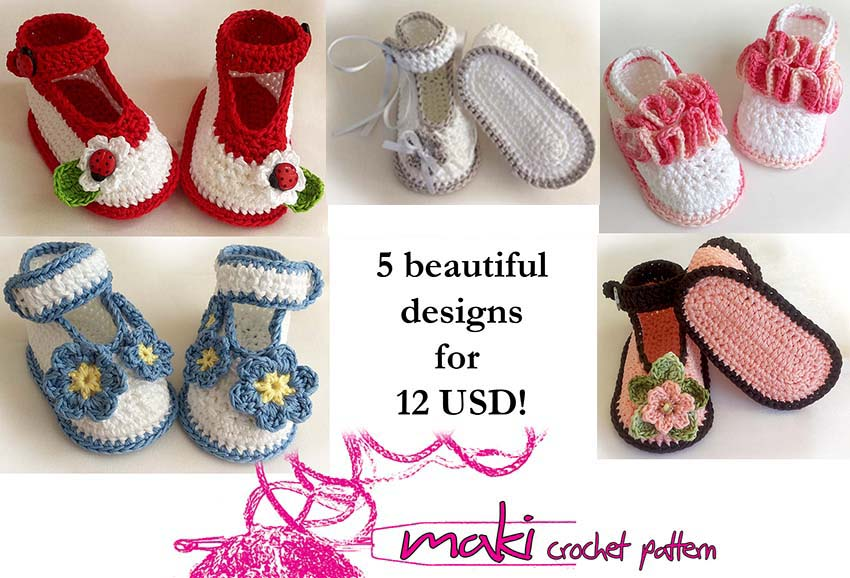 Crochet patterns - e-Book - Permission to sell finished items. Full of ...
